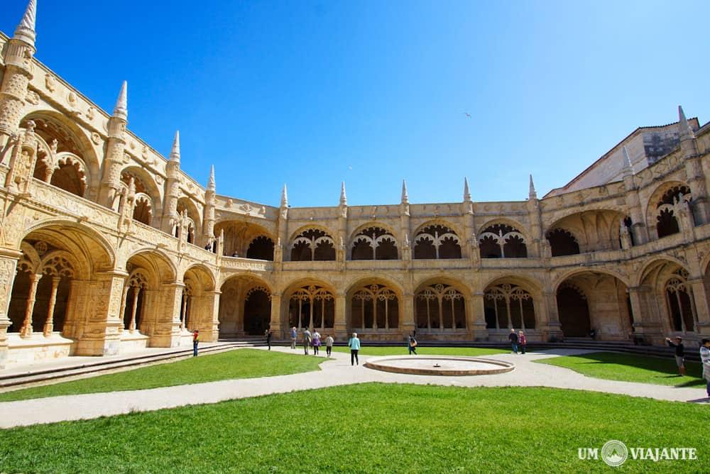 Claustro, Mosteiro dos Jerónimos, Belém - Lisboa - Portugal