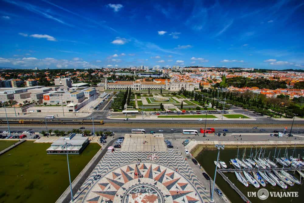 Vista de Belém, Padrão dos Descobrimentos - Lisboa - Portugal