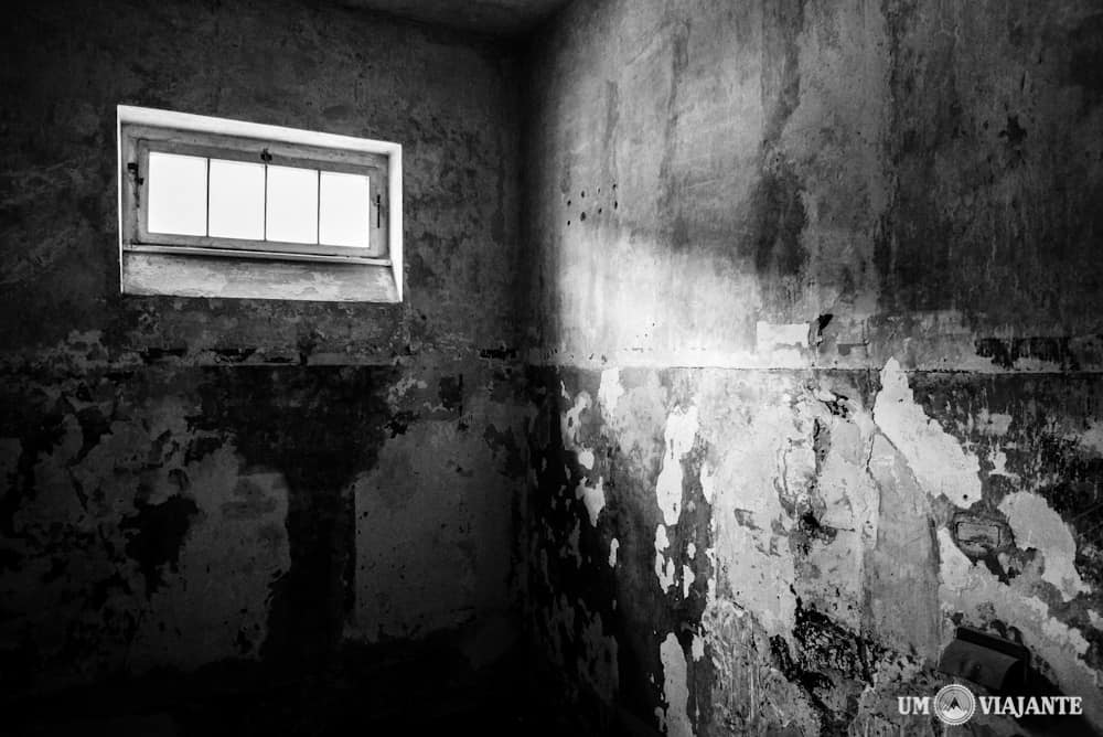 Uma das celas de Dachau