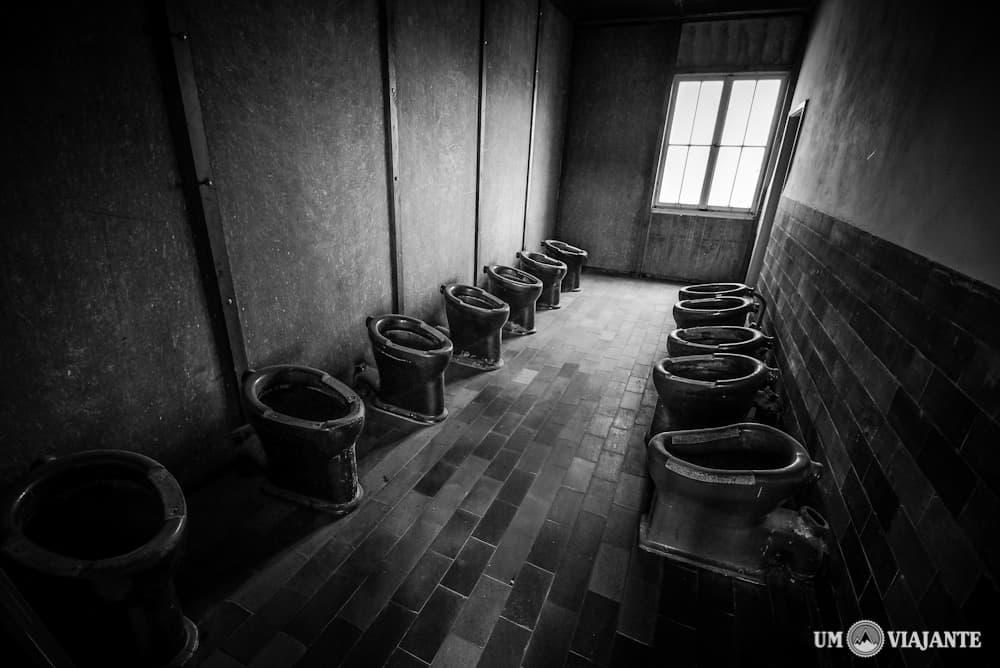 Banheiro dos prisioneiros, Dachau