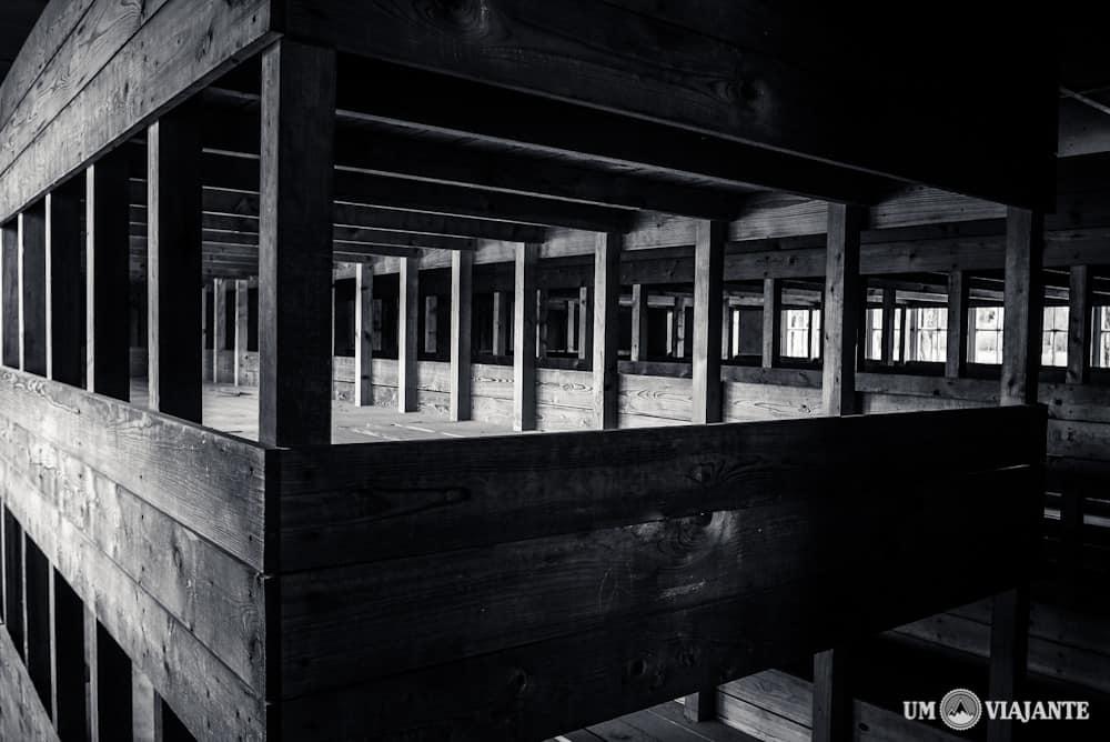 Camas onde dormiam os prisioneiros, Dachau