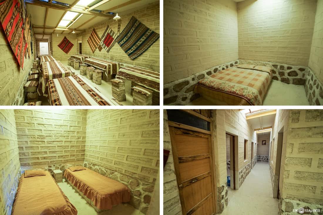 Segunda noite - Uyuni - Hotel de Sal