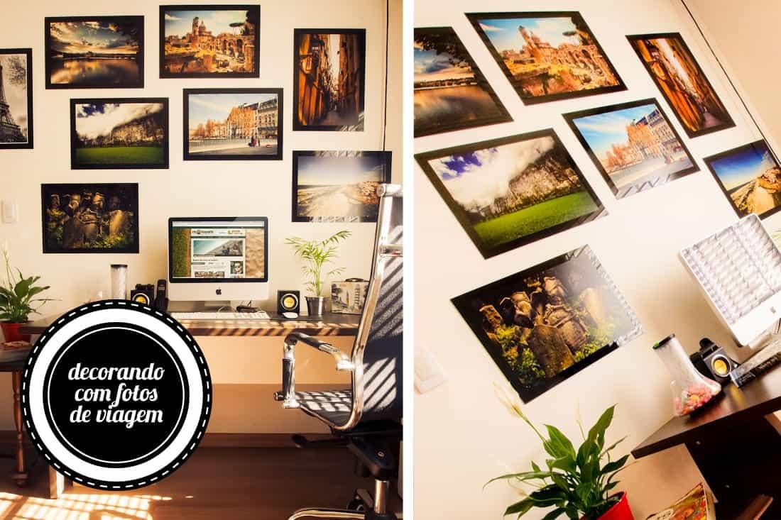 Decorando sua casa com coisas de viagem um viajante for Revelar fotos baratas