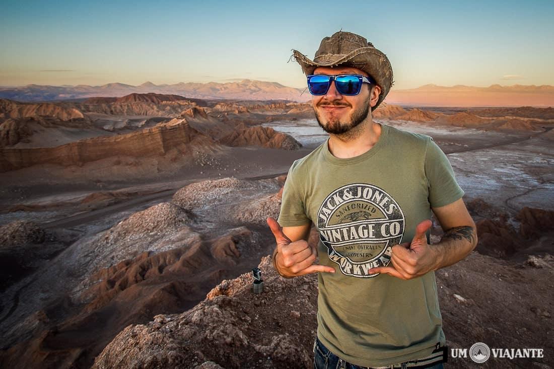 Um Viajante no Deserto do Atacama