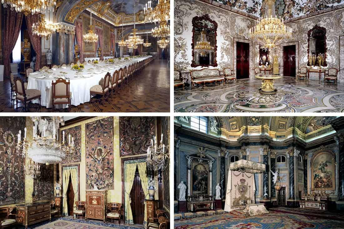 Palácio Real de Madrid, Espanha - Fotos divulgadas pelo site oficial