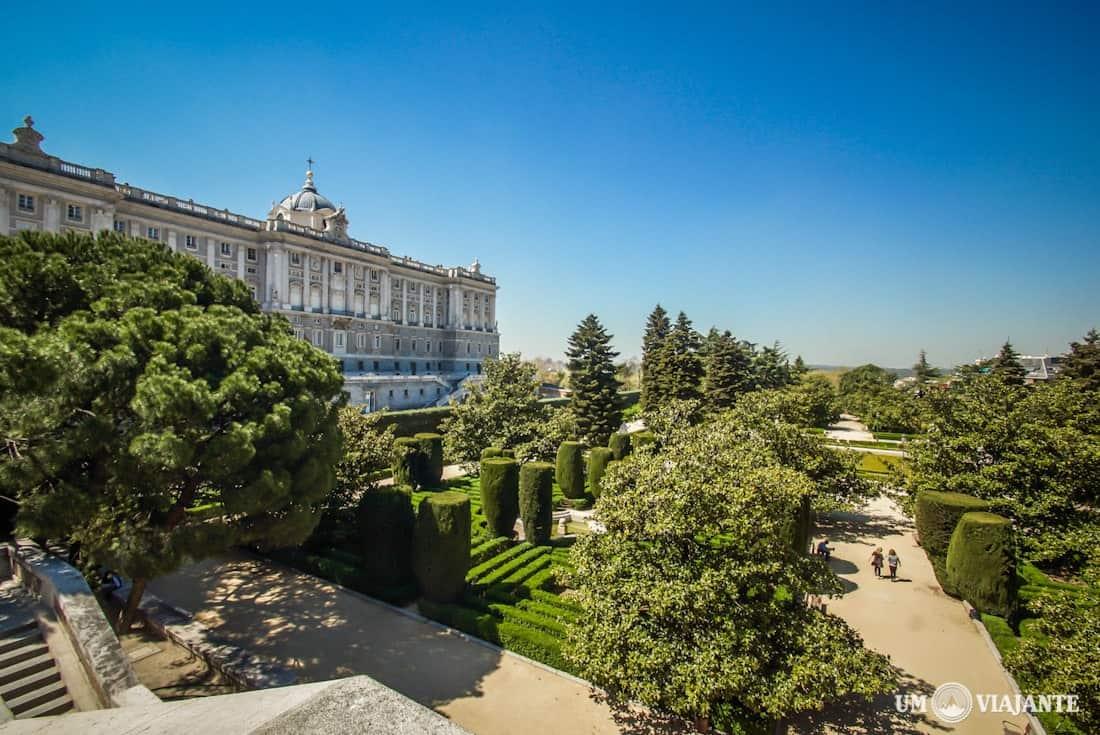 Palácio Real de Madrid - Jardines de Sabatini
