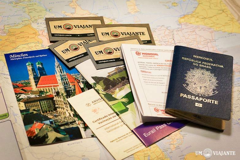 Documentos para Viajar - Europa