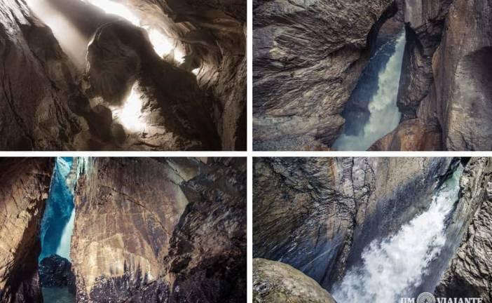 As incríveis cachoeiras subterrâneas de Lauterbrunnen