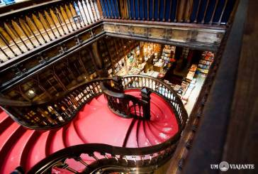 A famosa Livraria Lello e Irmão, no Porto