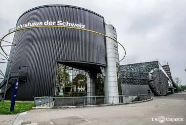 Visitando o Swiss Transport Museum, o Museu dos Transportes Suíço