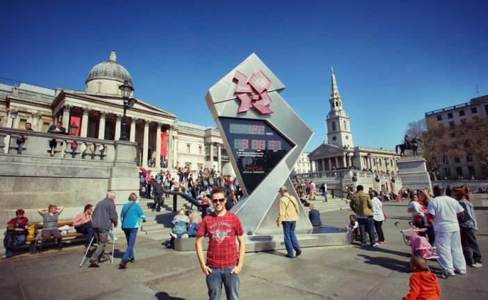 Pra Londres só um… até breve….