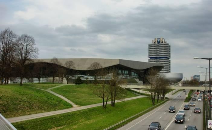 Munique, BMW Museum e Olympia Zentrum