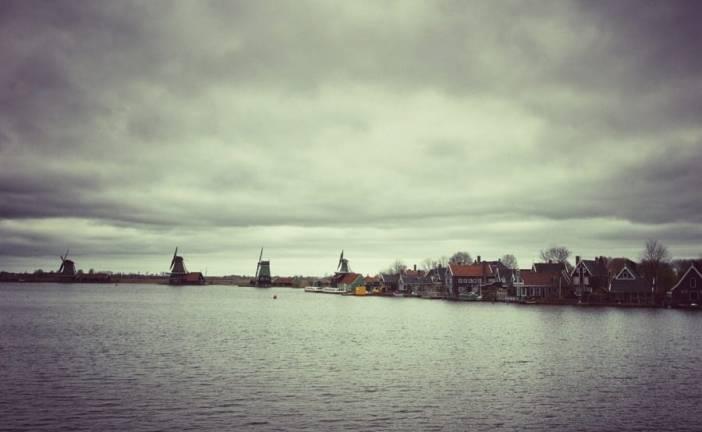Zaanse Schans, uma vila tipicamente holandesa
