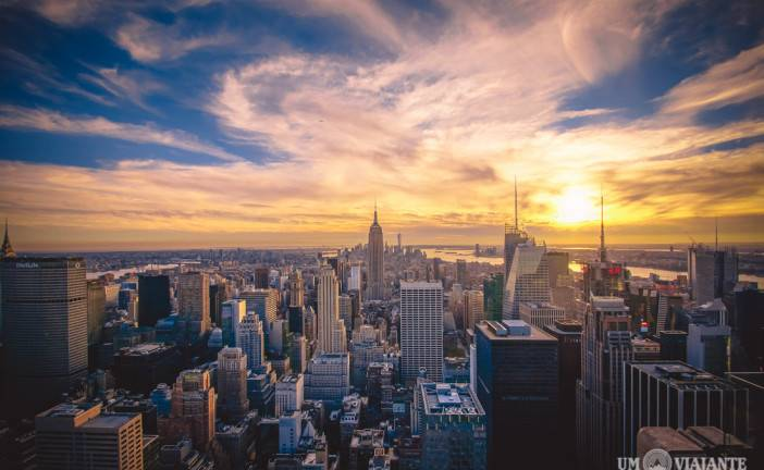 Nova York do alto: subindo no Top of the Rock