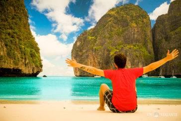 Maya Bay, como é dormir na praia mais famosa da Tailândia