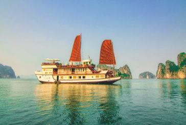 Vietnã: Cruzeiro em Halong Bay com a Indochina Junk