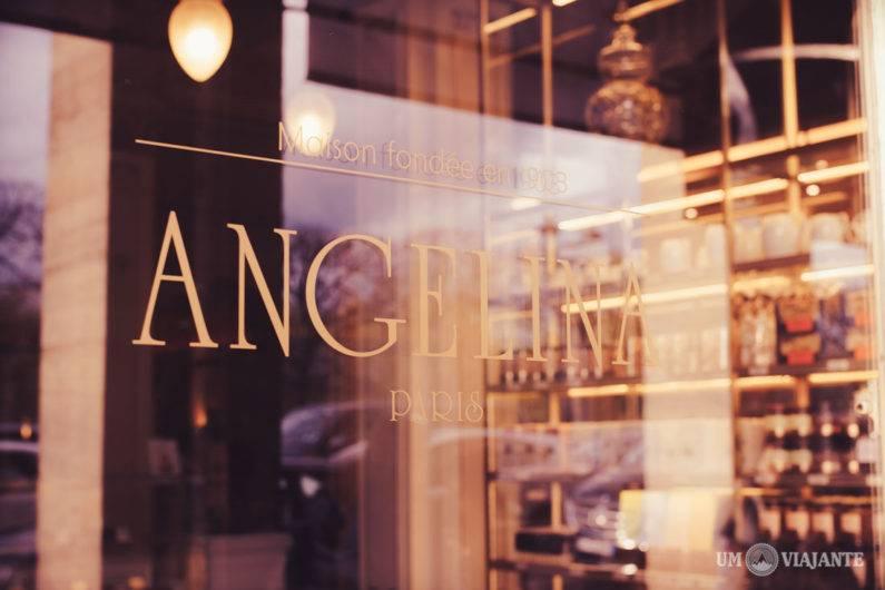 Angelina e o Melhor Chocolate Quente de Paris