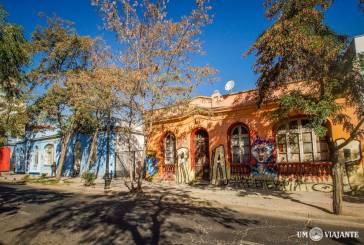 Bellavista, meu bairro favorito em Santiago