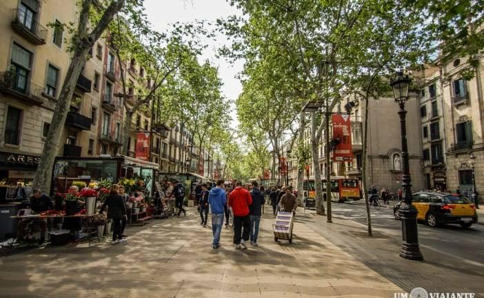 Um passeio na Rambla e no Mercado De La Boquería, em Barcelona