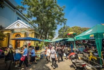 Feiras de rua e um passeio pelo Flower Market de Bangkok
