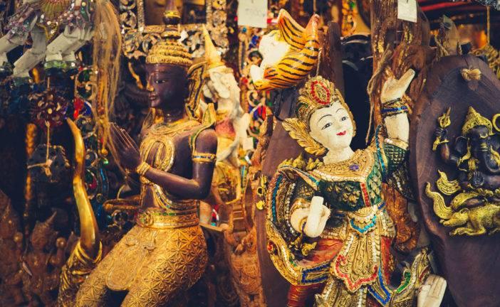 Chatuchak Market Bangkok, o maior mercado de rua da Tailândia