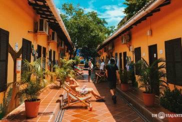 O melhor hostel de Cartagena: Hostel El Viajero