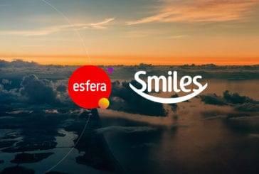Ganhe até 60% de pontos bônus nas transferências do programa Esfera Fidelidade para a Smiles