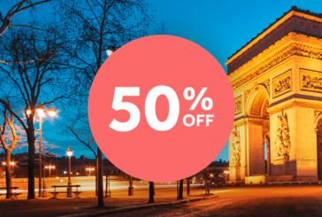 TAP Miles&Go oferece 50% de desconto nas passagens com pontos!