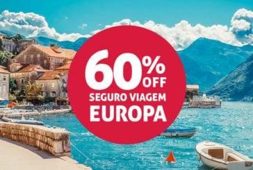 Termina hoje! Seguro Viagem Europa, obrigatório, com 60% de desconto!