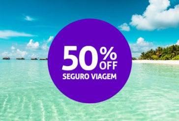 Só até amanhã!!! 50% de desconto em qualquer Seguro Viagem Allianz Travel