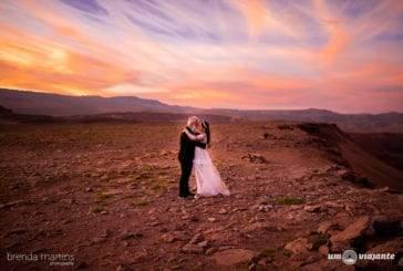 Casamento no Deserto do Atacama: a realização de um sonho