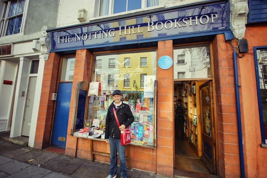 The Notting Hill Bookshop, Londres