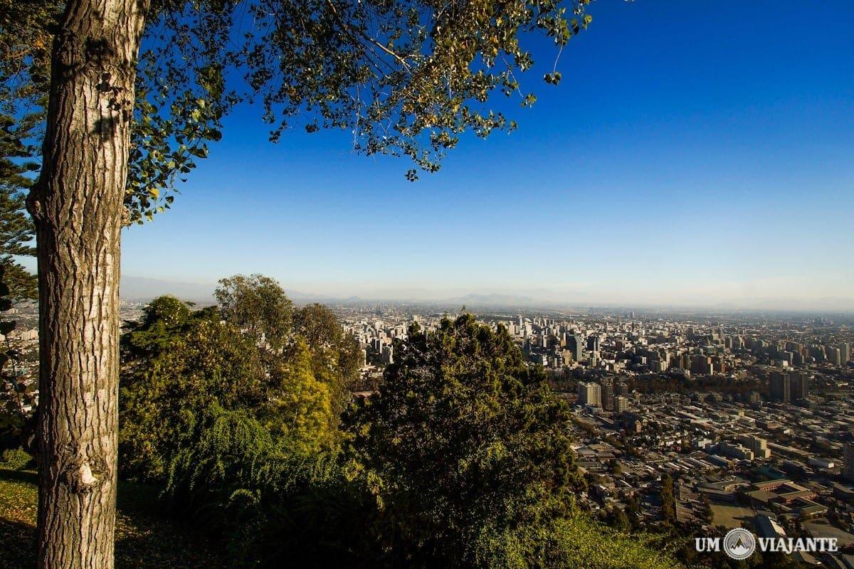 Santiago, Cerro San Cristóbal