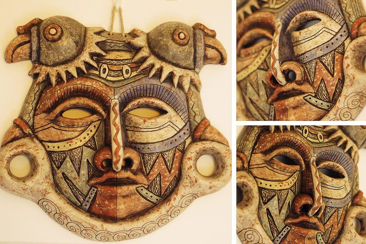 Máscara Tribo Chule