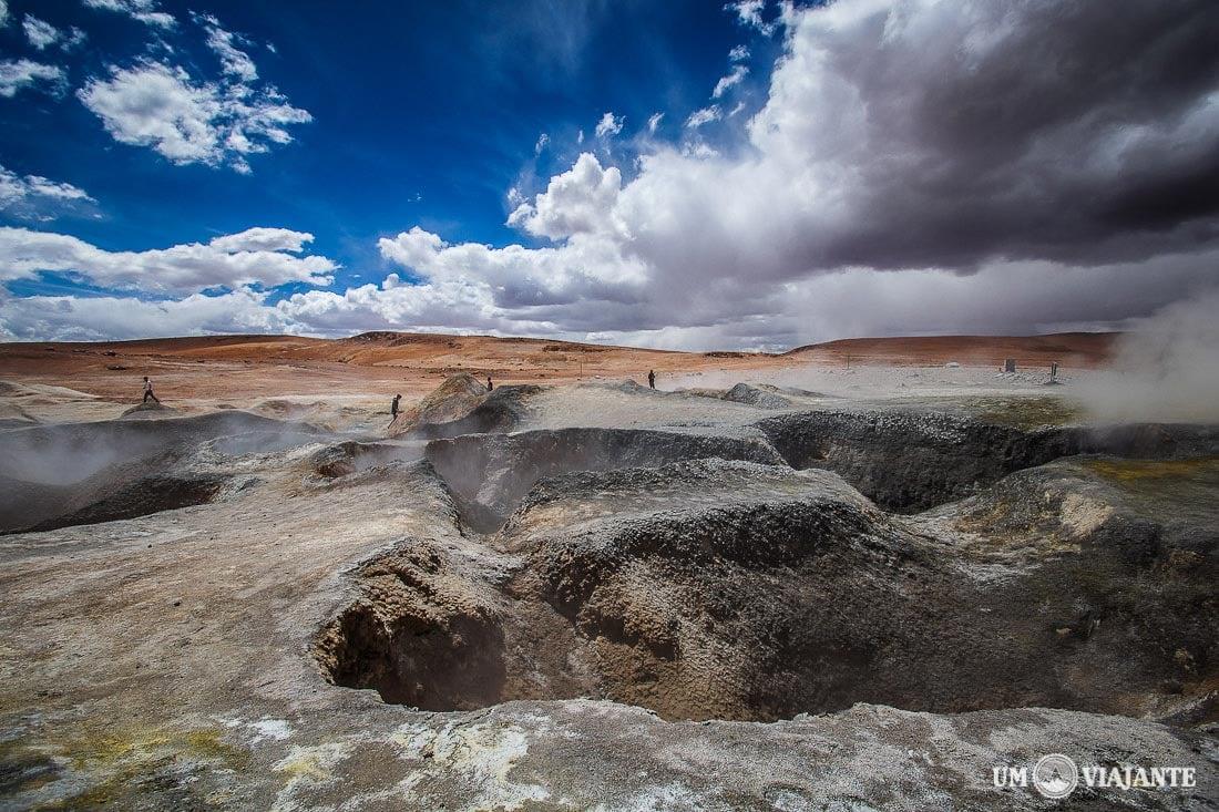 Geysers Bolívia