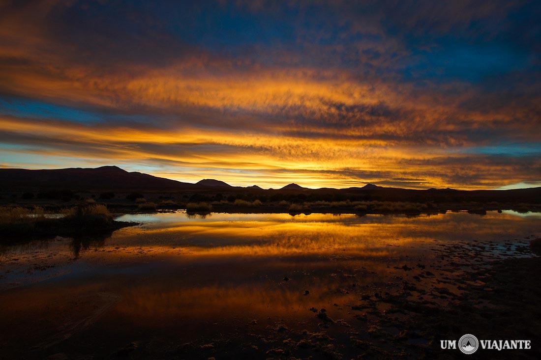 Pôr do sol Bolívia