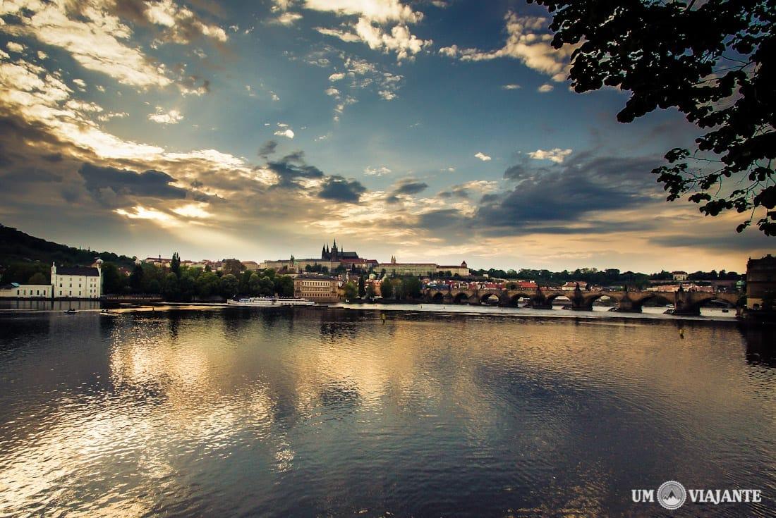 Sunset Prague - Pôr do sol Praga