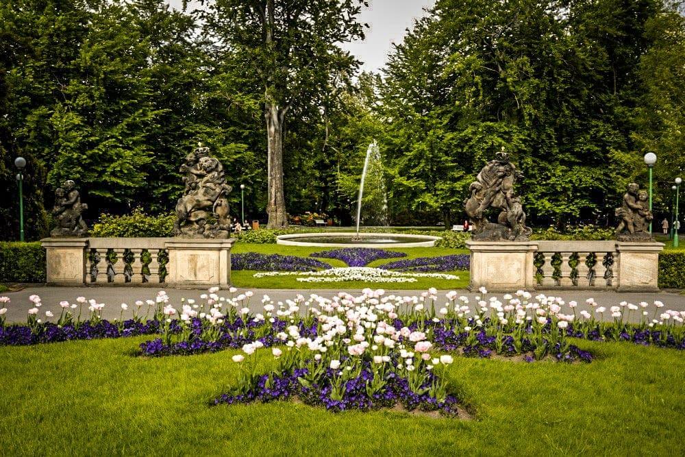 Jardins do Castelo de Praga