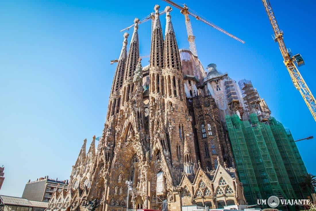 A Sagrada Família, em Barcelona