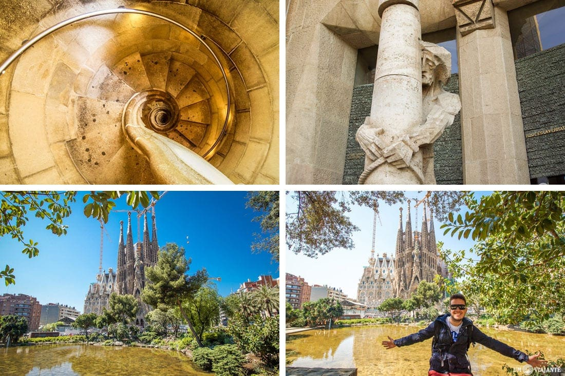 Sagrada Família, em Barcelona