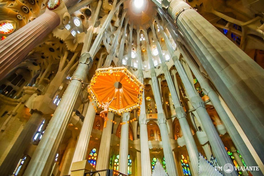 Altar da Sagrada Família, em Barcelona
