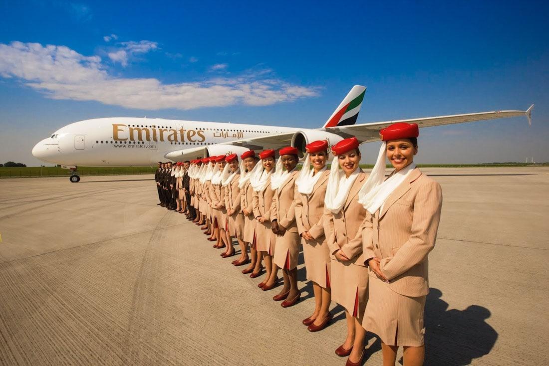 Emirates - Uma das melhores companhias aéreas do mundo - Foto: divulgação
