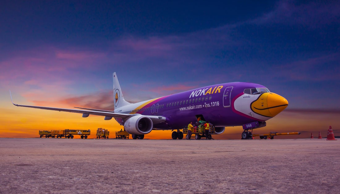 Nokair - Companhia Low-cost do Sudeste Asiático - Foto: Golf_chalermchai