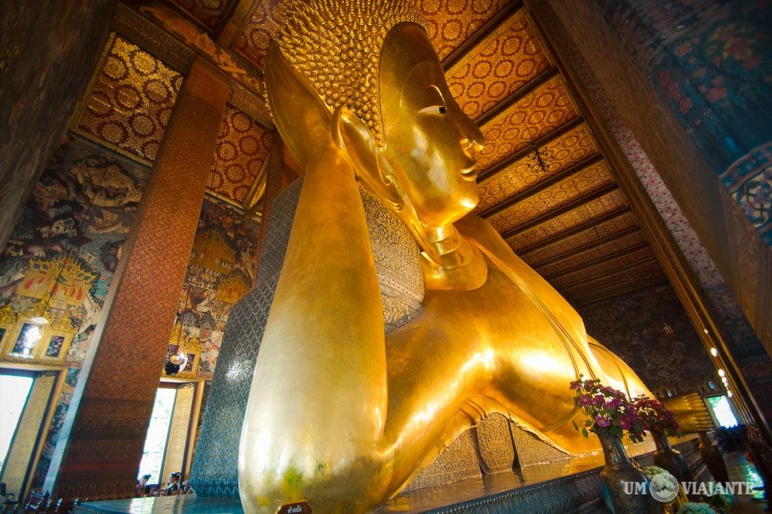 Wat Pho - Buda Reclinado, Bangkok