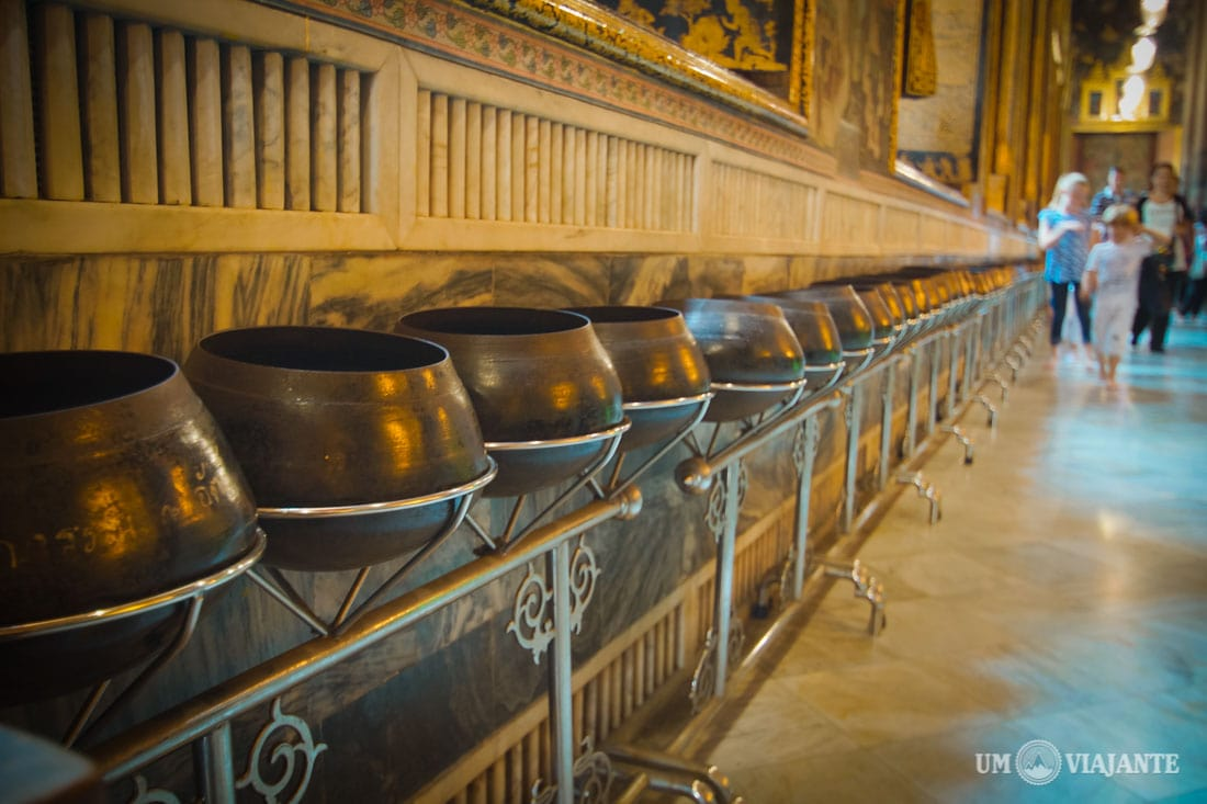 108 Potes de Bronze - Wat Pho, Bangkok