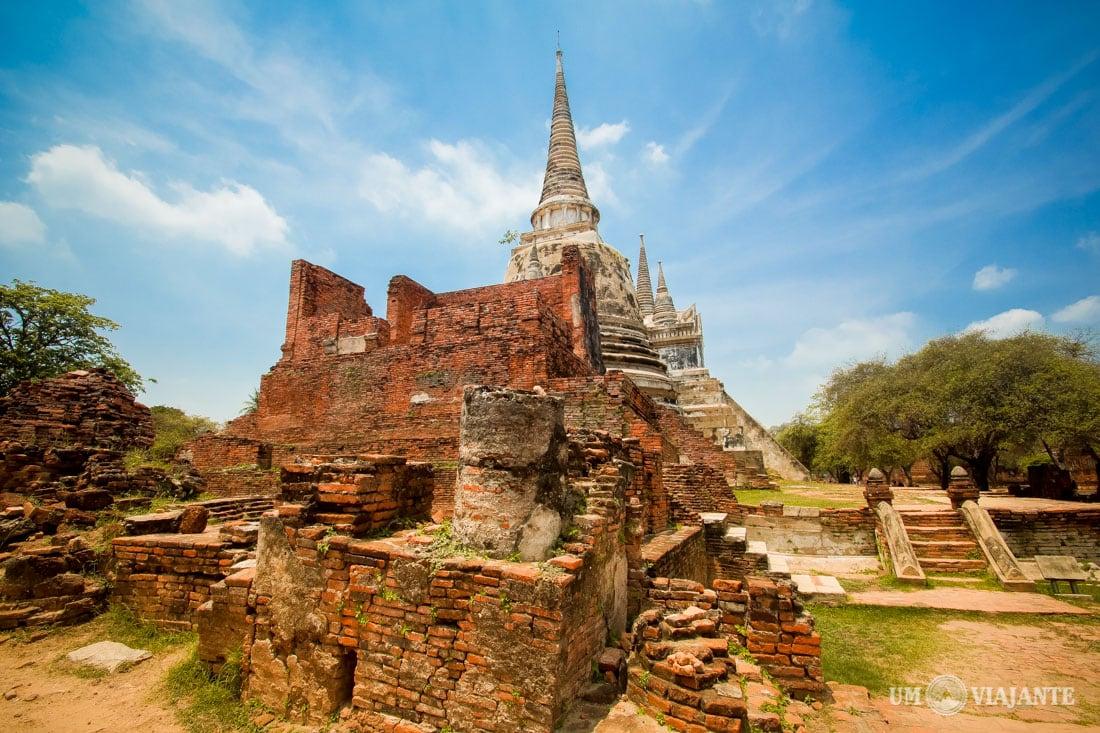 Templos em Ayutthaya
