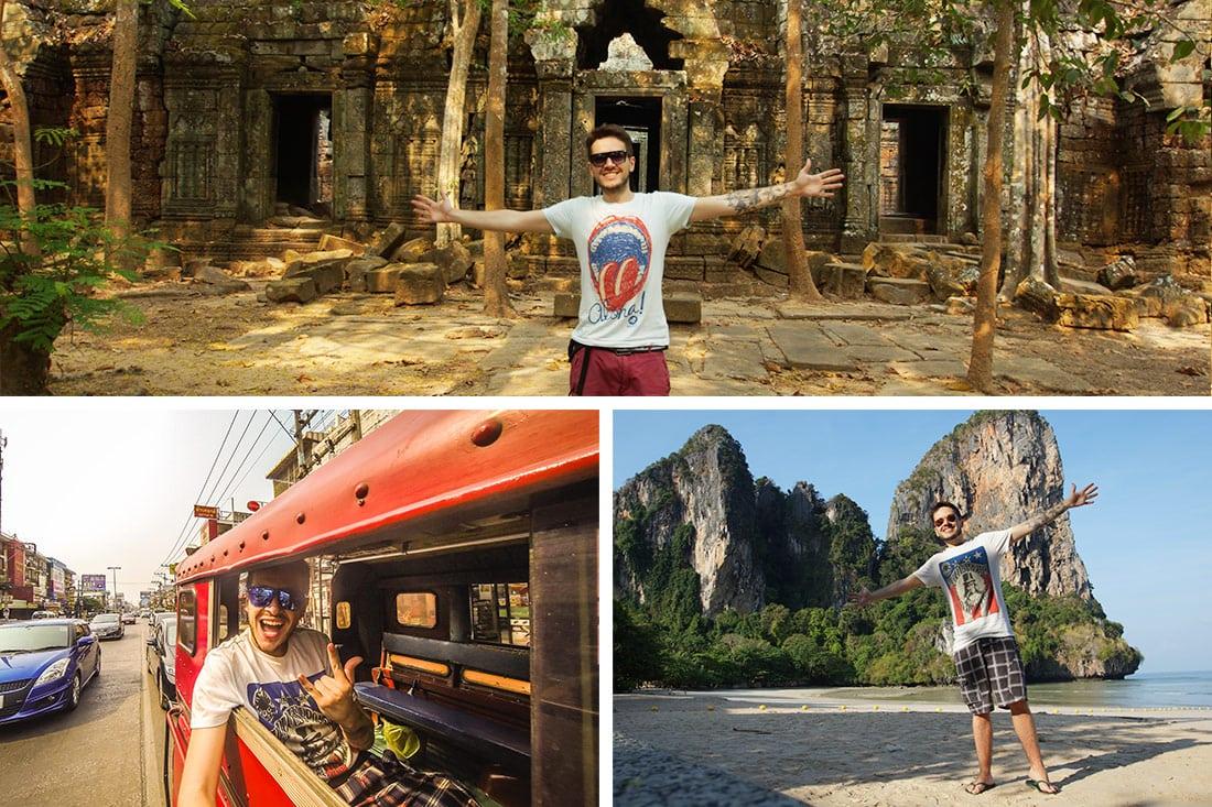 Momentos especiais da minha viagem na Ásia em 2015