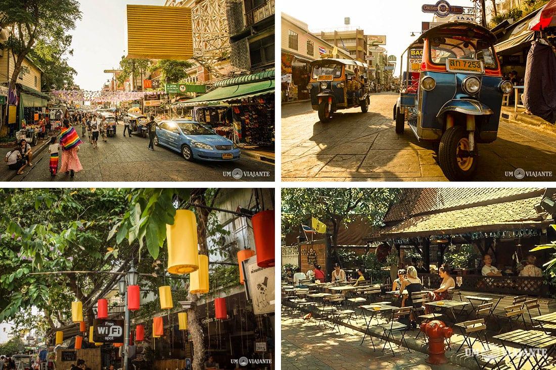 Bangkok - Roteiro, dia 1