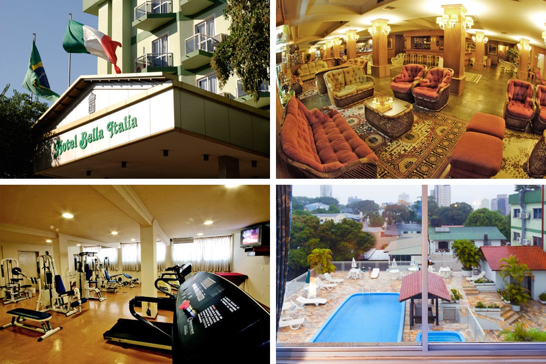 Hotel em Foz do Iguaçu: conheça o Bella Itália e sua fantástica Noite Italiana - Um Viajante