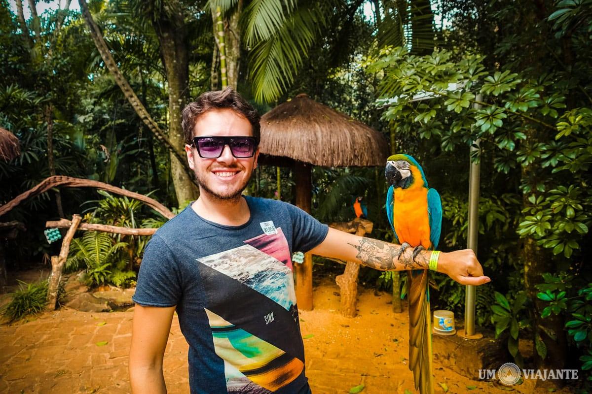 Parque das Aves, em Foz do Iguaçu